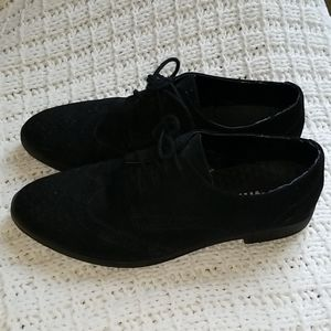 MIA Black Saddle shoes